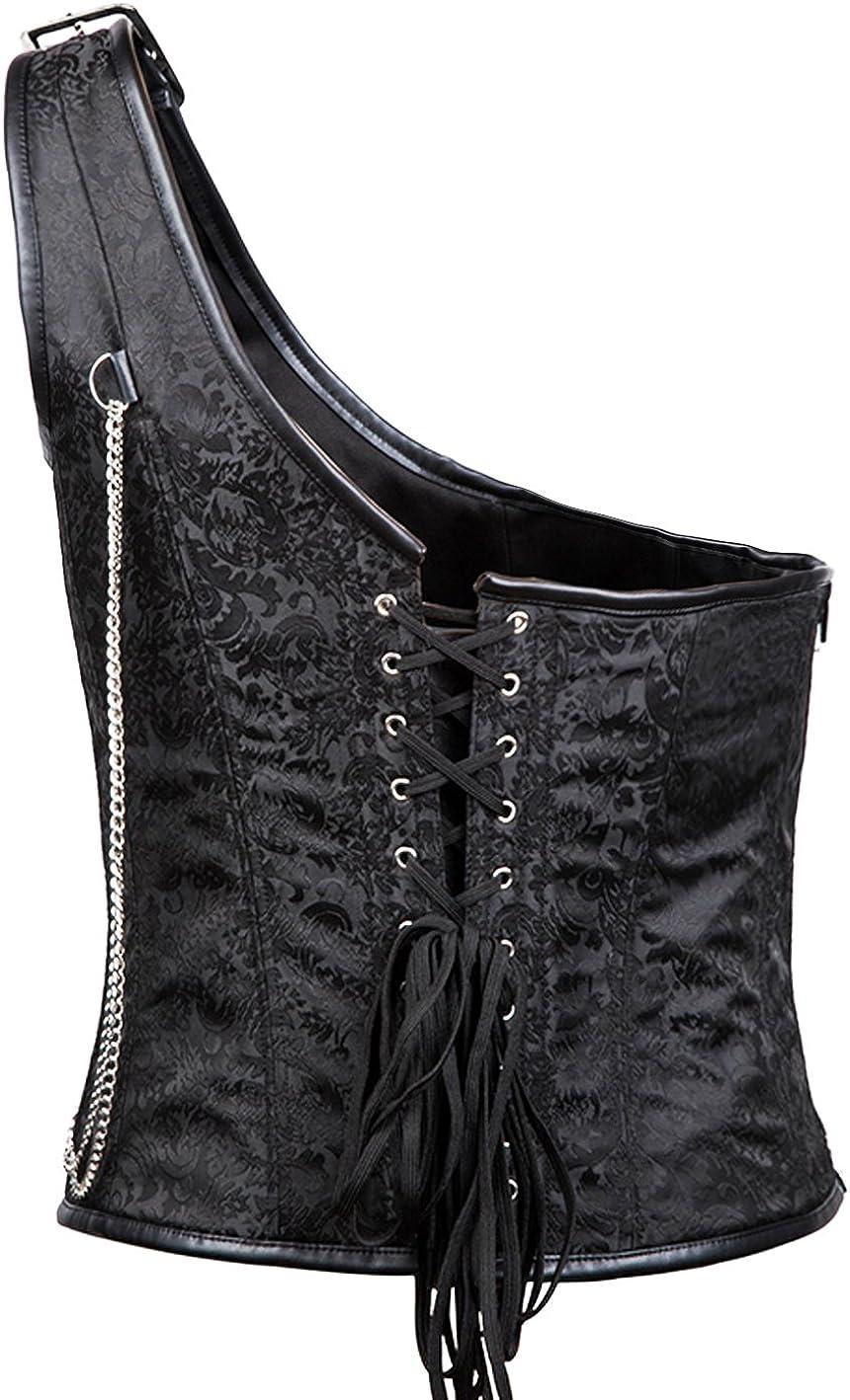 Bslingerie/® Mens Steampunk Gothic Waist Cincher Costume Corset
