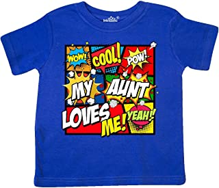 inktastic My Aunt Love Me Toddler T-Shirt