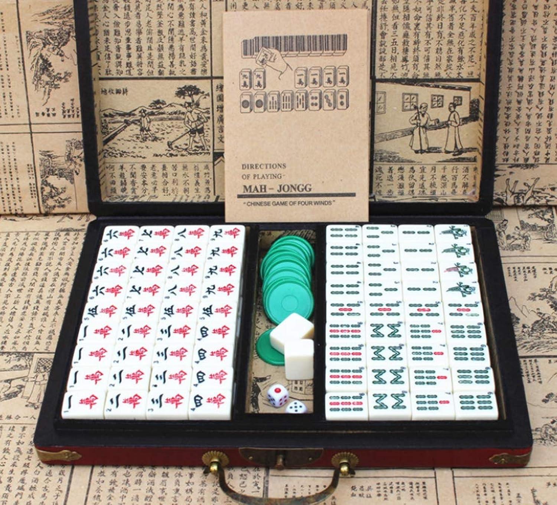 están haciendo actividades de descuento WANGYONGQI WANGYONGQI WANGYONGQI Mahjong, American Mahjong, juego completo de Mahjongg clásico, Mahjong inglés  mejor calidad