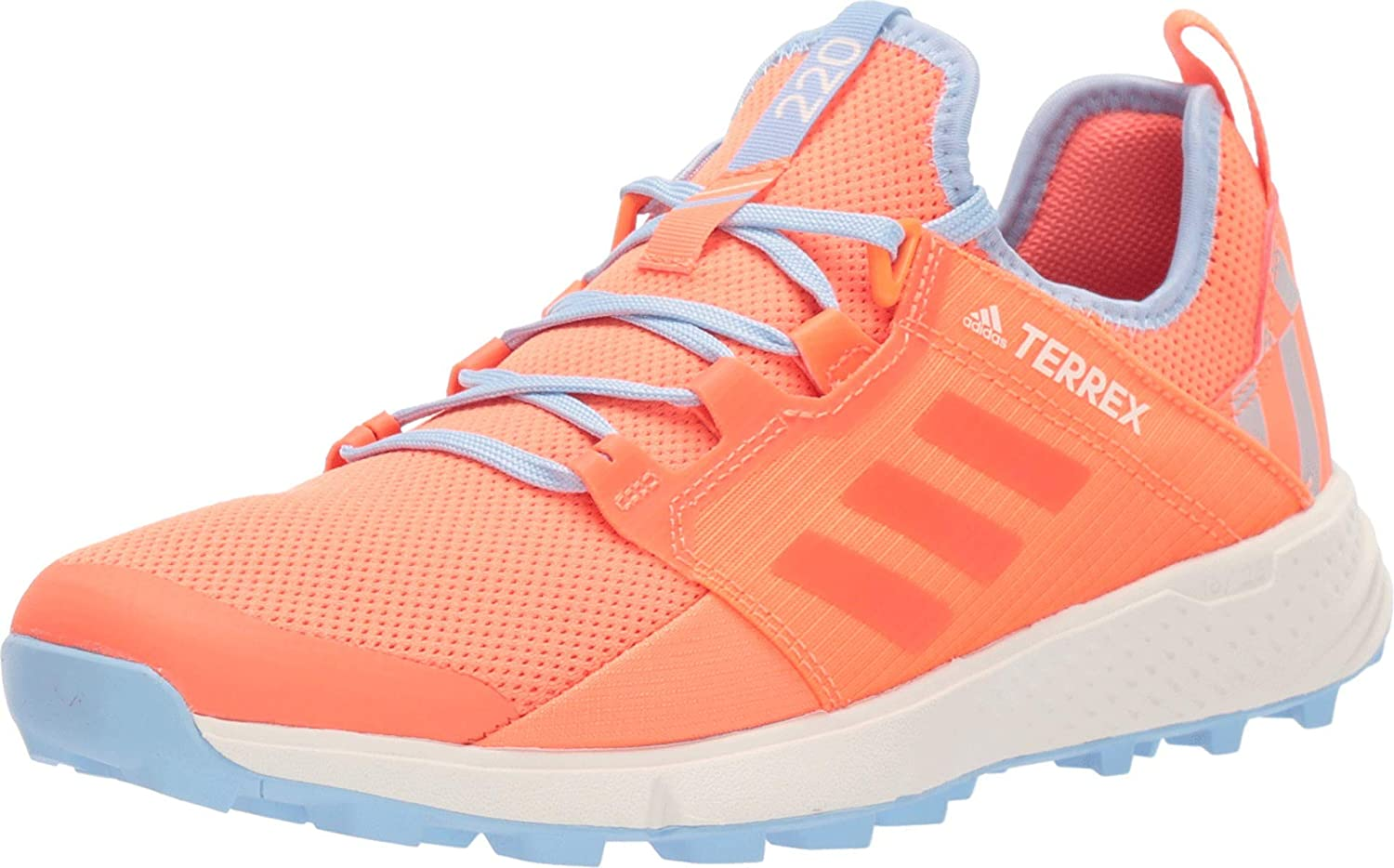 adidas outdoor Womens Terrex Speed Ld Trail Running Sneakers Shoes - Orange - Size 8.5 B