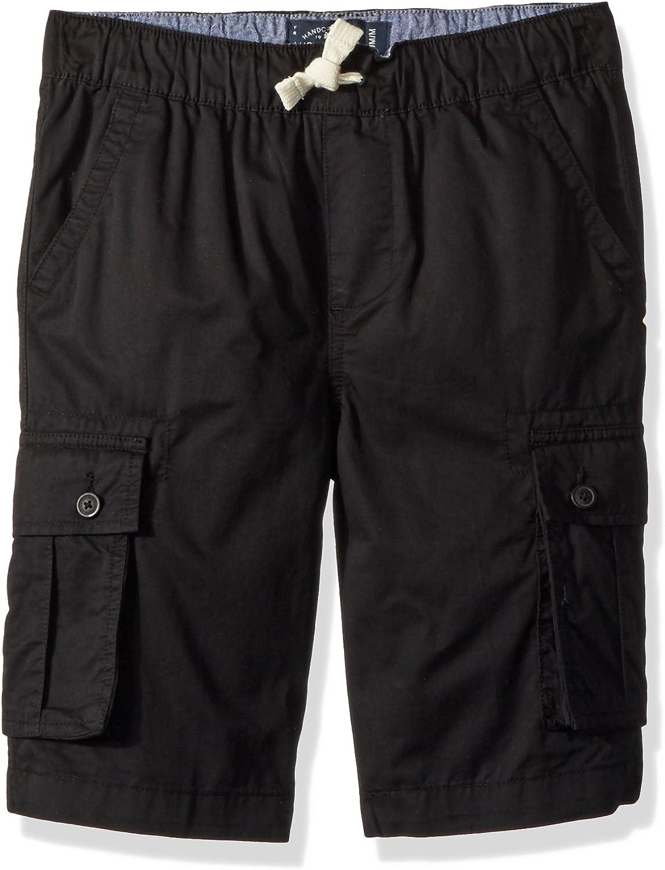 Lucky Brand Boys' Solid Cargo Shorts