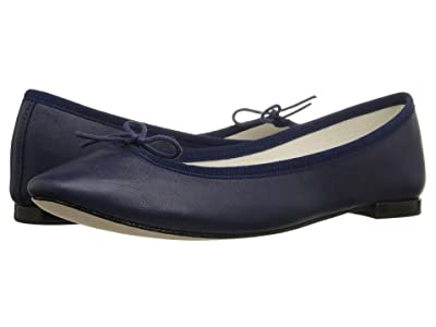 Repetto Cendrillon Nappa Leather (Classique (Dark Blue Nappa Calfskin Leather)) Women