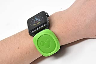 Luke3DP Watch Adapter Compatible with Disney Magic Band/Traditional Watch (Green)