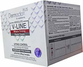 Dermaction Plus by Watsons Miracle Firming Facial Cream. Lifting control, Dermatologically tested. Breakthrough V-Line Solution with B-Tox lifting Complex. (30 ml/ pack)