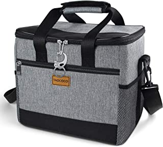 TAOCOCO Collapsible Cooler Bag, 50 Can Insulated Leakproof Soft-Sided Beverage Tote with Shoulder Strap, Bottle Opener and...