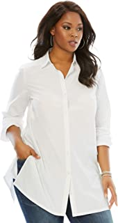 Best plus size boyfriend shirt Reviews