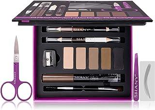 SHANY Cosmetics Shany brow chicka brow eyebrow set - 17 piece eyebrow makeup kit with brow powder, brow gel, dual ended pe...