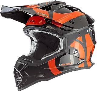"O""NEAL   Motocross-Helm   MX Enduro   ABS-Schale, Sicherheitsnorm ECE 22.05, Lüftungsöffnungen für optimale Belüftung & Kühlung   2SRS Helmet   Erwachsene"