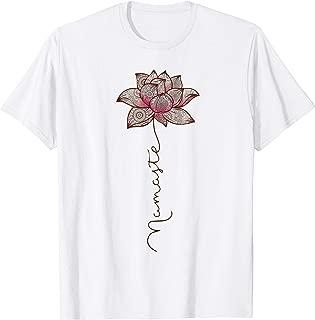Namaste Mandala Lotus Love Yoga T-Shirt