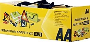 Breakdown  amp  Safety Kit Pus  with Tyre Inflator