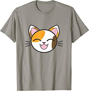 Calico Cat T Shirt- Cute T-Shirt With A Calico Cat
