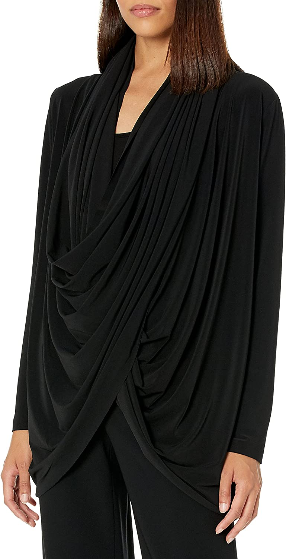 Norma Kamali Women's Wrap Cardigan