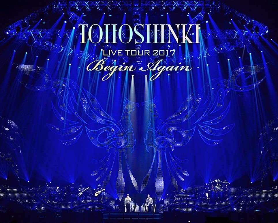 エッセンススカイ奨学金東方神起 LIVE TOUR 2017 ~Begin Again~(Blu-ray Disc2枚組)(スマプラ対応)(初回生産限定盤)