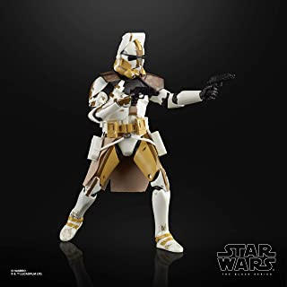 Star Wars The Black Series Clone Commander Bly Toy 6-inch Scale Star Wars: The Clone Wars Collectible Action Figure, Kids Ages 4 and Up