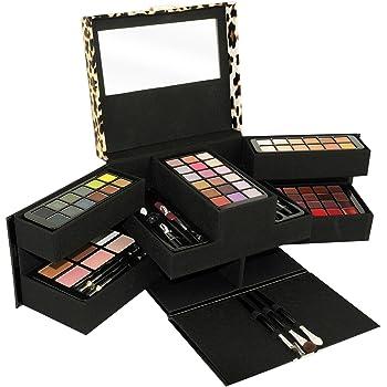 Gloss - caja de maquillaje, caja de regalo para mujeres - Funda de maquillaje - Colección de lujo - 87 piezas: Amazon.es: Belleza