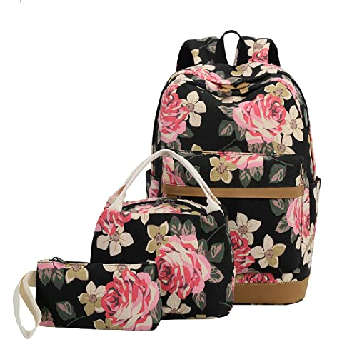 2d688f0b685f School Backpack Girls Teens Bookbags Set