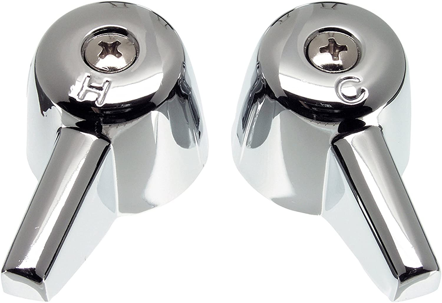Danco Central Brass Cheap mail order sales Pair of 80401 Finally resale start Handles Chrome Faucet