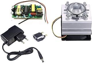 Tesfish DIY 100W führte Fahrer + kühler + Objektiv mit Reflektor Kollimator + Ventilatorfahrer für hohe Leistung LED wachsen helles LED Licht
