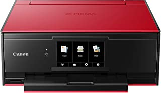 Canon 6 Ink System Canon Pixma TS9160 Ultimate Home Printer - Red, Red, 1 (TS9160R)