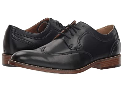 Dockers Ryland (Black Polished Man-Made) Men
