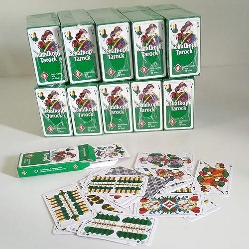 100 Pack Schafkopf- Spielkarten mit je 36 Blatt mit Bayrischem Bild