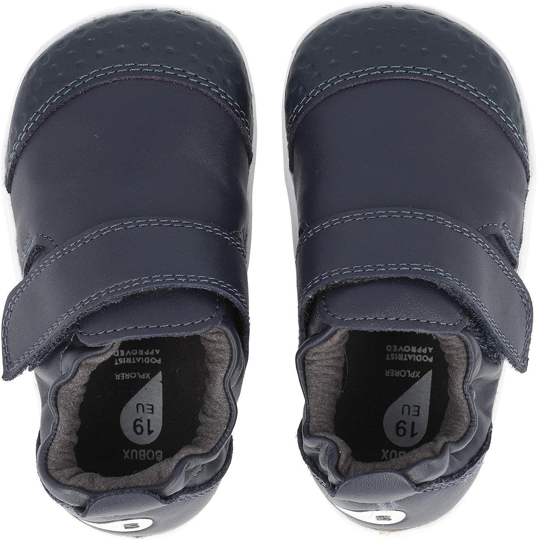 Navy Bobux Xplorer Go Blau Premium Soft Leder