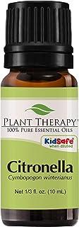 Plant Therapy Citronella Essential Oil 10 mL (1/3 oz) 100% Pure, Undiluted, Therapeutic Grade