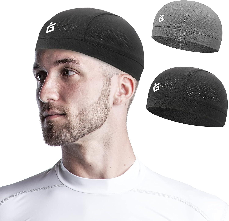 Seektop 2 Pack Cooling Skull Cap for Cycling Ranking TOP13 Ru Liner Men Helmet Super beauty product restock quality top