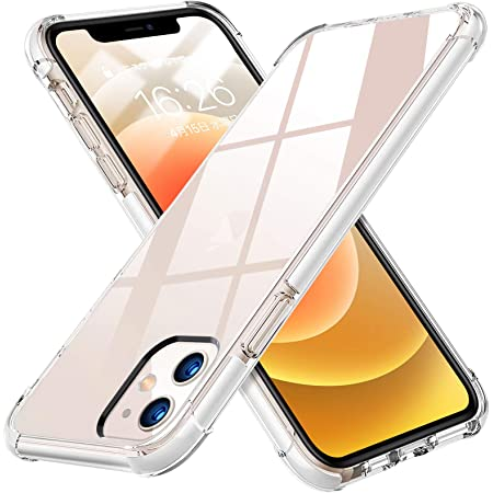 iPhone12 ケース iPhone12Pro ケース 6.1インチ クリア TPU カバー 透明 耐衝撃 米軍MIL規格取得 レンズ保護 指紋防止 ストラップホール付 超薄型 超耐磨 軽量 iPhone12 ケース / iPhone12Pro ケース 取り出し易い 黄変防止 ワイヤレス充電対応 衝撃吸収ポケット 柔軟性抜群 透明 人気 XSP02-TM-12G