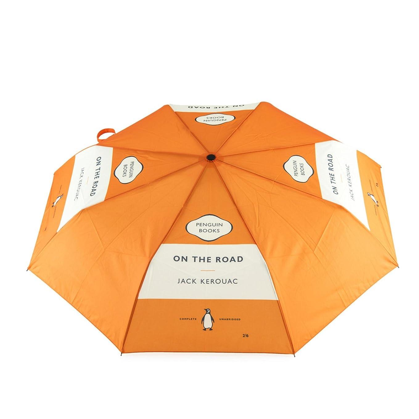 トイレ絶え間ないからかうペンギンブックス 折り畳み傘 ON THE ROAD 813175
