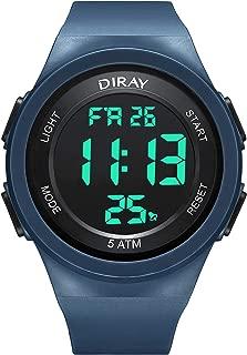 JEDIR DIRAY Men Analog Sport Digital Watch Electronic Wrist Watches with Alarm Stopwatch LED Backlight