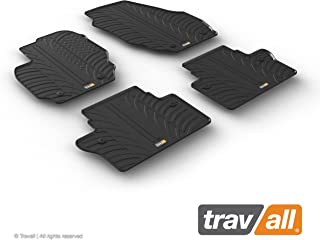 Travall Mats Compatible with Volvo V70 Estate (2007-2016) TRM1287 - All-Weather Rubber Floor Mats