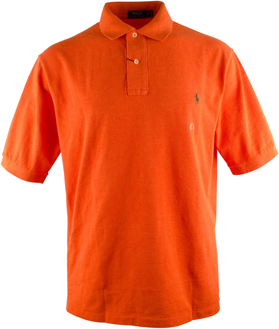 Men's Big and Tall Classic Fit Short Sleeve Polo Shirt