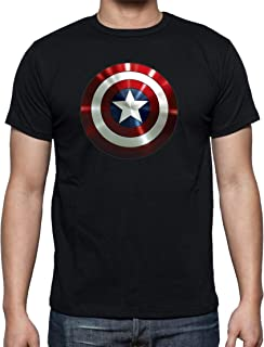 The Fan Tee Camiseta de Mujer Capitan America Comic Iron Man Hulk Advenger Vengadores 005: Amazon.es: Ropa y accesorios