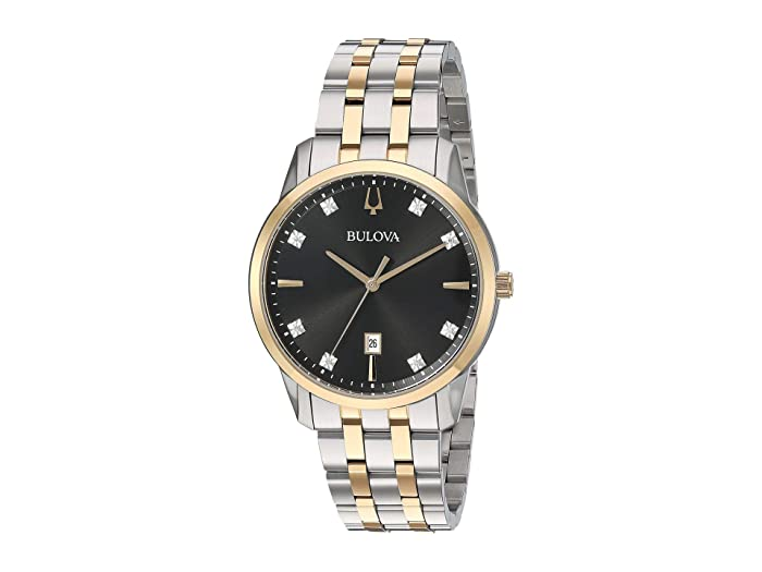Bulova  Sutton - 98D165 (Two-Tone Yellow) Watches