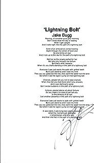 Jake Bugg Signed Autographed