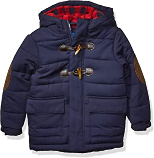 Perry Ellis Boys' Quilted Toggle Jacket
