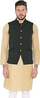Men's Rayon Festive Nehru Vest Waistcoat- 15 Colors