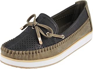 Metro Women Synthetic Loafers (31-8183)