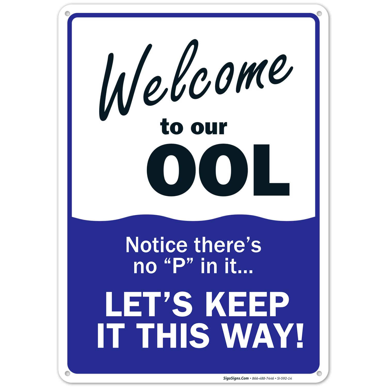 Swimming Pool Sign Max 57% Finally resale start OFF Welcome to R Rules Our OOL 10x14