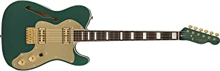 Fender FSR Super Deluxe Thinline Telecaster - Sherwood Green Metallic - Fabricado en Japón