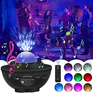 Star Projector,Night Light Projector Galaxy 3 in 1,Star Light Projector with LED Nebula Cloud,Star Projector with Remote Control and Music Player,Star Projector for Ceiling/Bedroom/Kids/Adult/Party