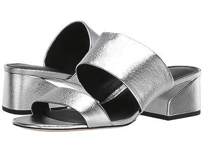Via Spiga Phillipa (Silver Nugget Metallic Leather) High Heels