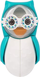 Flipper Owl Smarty Toothbrush Holder, Blue, Flr-Owl-Sty