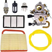 FitBest Carburetor with Air Filter for Stihl TS410 TS420 Concrete Cut-Off Saw Replaces 4238 120 0600 Zama C1Q-S118