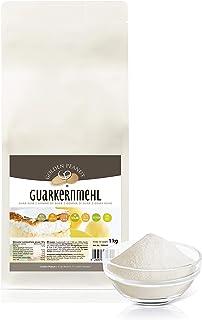 Guarkernmehl 3500 cps. 1 kg natürliches Verdickungsmittel | viskoses Hydrokolloid | geschmacksneutral glutenfreies Mehl zum Kochen und Backen | Golden Peanut
