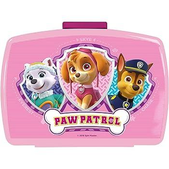 p:os 28227088 Paw Patrol Brotdose Premium mit Einsatz blau