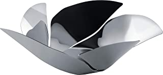 """Alessi""""Twist Again"""" Fruit Holder in 18/10 Stainless Steel Mirror Polished, Silver"""