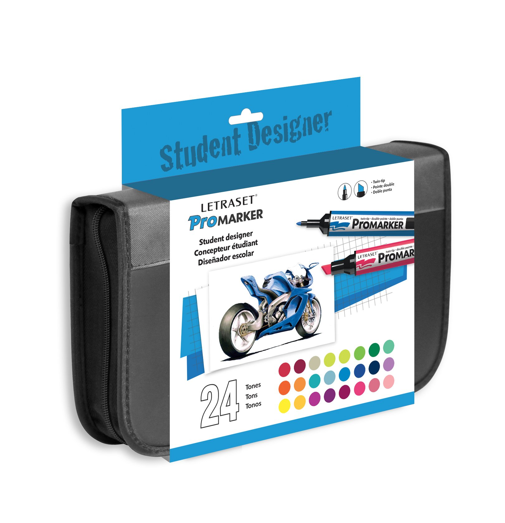 PROMARKERS PACK OF ANY 24 COLOURS