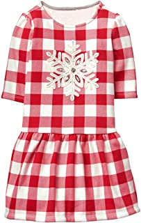 gymboree red holiday dress